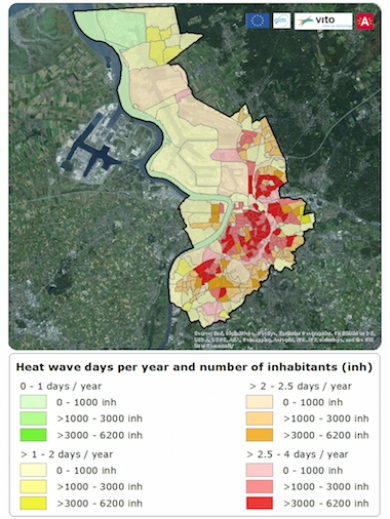 Heat Wave? Smart geodata map vulnerable population groups